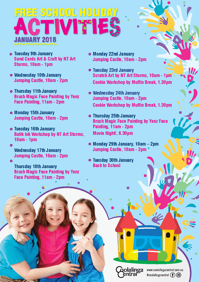 Palmerston school holiday program