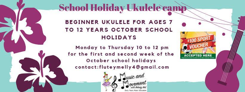 melody mel school holidays