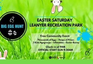 big egg hunt leanyer