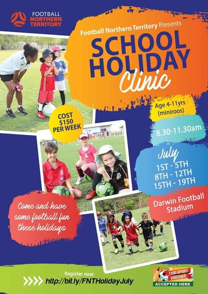 Football NT holiday clinics