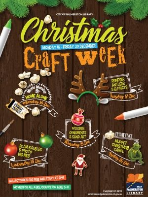 Christmas craft week