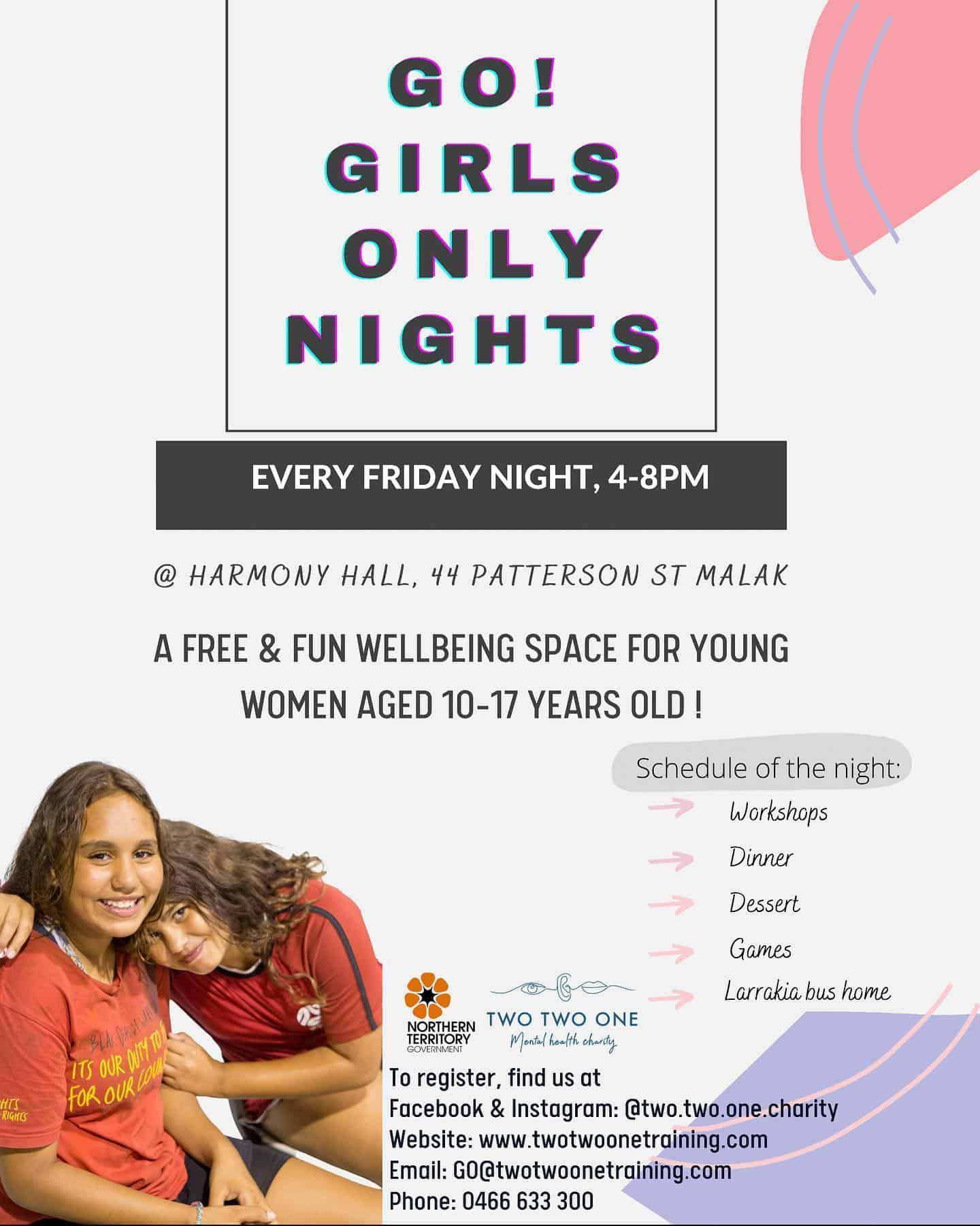 go girls only nights